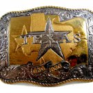 Texas 150th Anniversary 1836 - 1886 Belt Buckle by Crumrine 6914