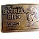 V. R. Wesson Big Red Bits Fansteel Belt Buckle 12022013