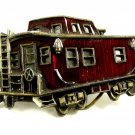 Limited Edition Red Caboose Belt Buckle by Great American Buckle Co 092314