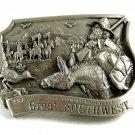 1985 Great Southwest Comemorative Belt Buckle by Arroyo Grande 102314