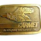 Carmet Serial No. 722 Belt Buckle by Hit Line 12022013