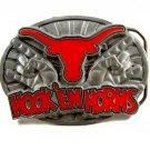 Hook 'Em Horns Texas Longhorns Belt Buckle