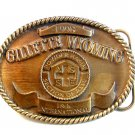 Gillette Wyoming Powder Basin 18th International Engineers Belt Buckle