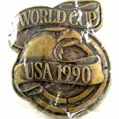 Mint In Plastic USA 1990 World Cup Belt Buckle 82014