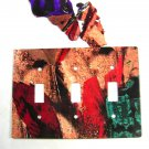 Cowgirl Kissing Horse Triple Light Switch Plate by Steel Images Made In USA 6815