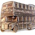 1995 London Tours Double Decker Bus Belt Buckle