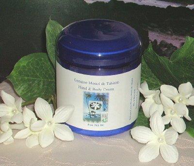 Monoi de Tahiti Tiare Gardenia Hand & Body Cream 8oz Jar