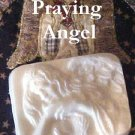 Alluring Sculptured Praying Angel Emu Oil Soap 5 oz
