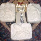 Love Spell Scented Sculptured Angels Emu Oil Soap Trio
