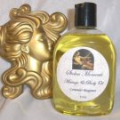 Mayan Queen  Body Massage Oil 8 oz Bottle