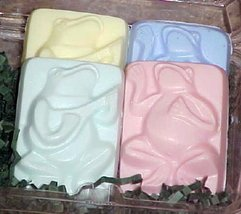 Baby Powder Frog Jamboree Emu Oil Soap Set Sylvan Lane