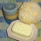 Juicy Pear  Victorian Soap with Emu Oil