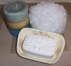 Rose Jasmine  Victorian Soap with Emu Oil