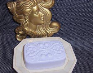 Rose Violet  Victorian Soap with Emu Oil