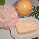 Mango Mandarin  Victorian Soap with Emu Oil
