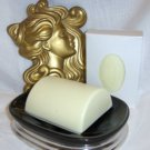 Mayan Gold Soap with Emu Oil Cresent Bath Bar Sylvan lane