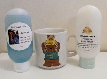 World's Greatest Dad Mug with Shower Gel or Hand Cream