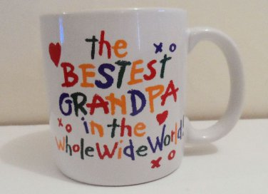 Bestest Grandpa Mug with Shower Gel or Hand Cream