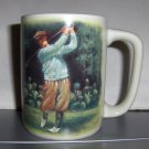 Vintage Golfer Mug with Shower Gel or Hand Cream