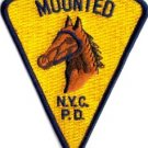 NYPD SPECIAL UNIT Mounted Horse PATCH