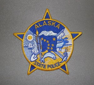 Alaska State Troopers Police Colorful Shoulder Patch