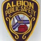Albion Public Safety Police Shoulder Patch
