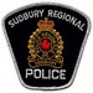 Sudbury Regional Auxiliary Auxiliaire Police Patch-Canada