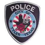 Tyler texas Police Shoulder Patch