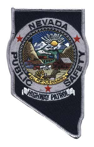 Nevada Public Safety Highway patrol Police Shoulder Patch