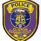 Clinton Police Shoulder Patch- Connecticut