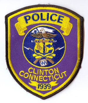 Clinton Police Shoulder Patch- Connecticut