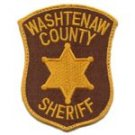 Washtenaw County Sheriff Shoulder Police Patch-Michigan