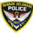 Newark Delaware Police Shoulder Patch