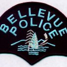 Bellevue Police Department Shoulder Patch Silver-WA