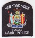 New York State Police GENESEE Park Police Shoulder Patch
