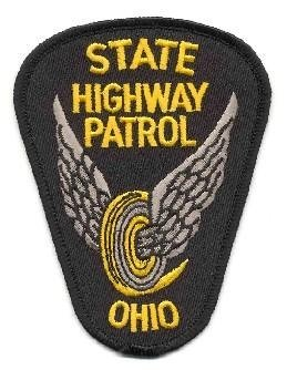 Ohio State Highway Patrol Police Shoulder Patch
