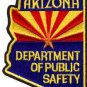 Arizona State Police Department of Public Safety Trooper Shoulder Patch