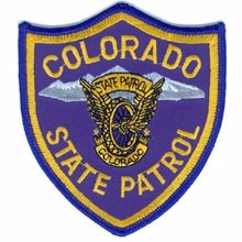 Colorado State Patrol Police Trooper Shoulder Patch