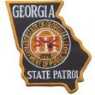 Georgia State Police Patrol Shoulder Patch