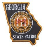 Georgia State Police Patrol Shoulder Patch