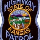 Kansas State Police Highway Patrol Shoulder Patch