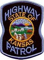 Kansas State Police Highway Patrol Shoulder Patch