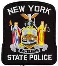 New York State Police Patrol Shoulder Patch