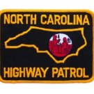 North Carolina State Police Highway Patrol Shoulder Patch