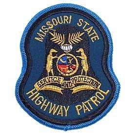 Missouri State Police Highway Patrol shoulder Patch