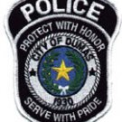 City of dumas Police protect with honor serve with pride Shoulder Patch
