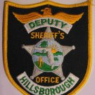 Hillsborough deputy sheriffs police department shoulder patch