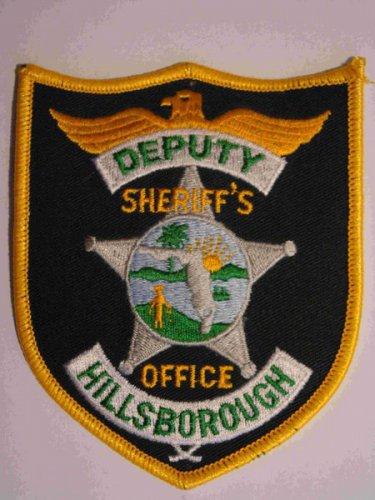 Hillsborough deputy sheriffs police department shoulder patch