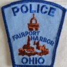 Fairport harbor ohio police department shoulder patch