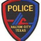 Haltom city Texas police department shoulder patch